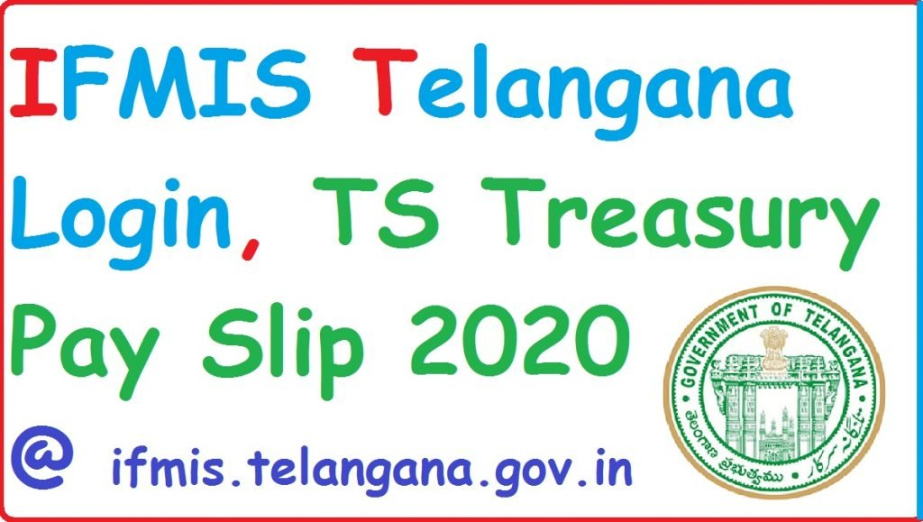 Download IFMIS TS Employee Pay Slip 2020 at ifmis.telangana.gov.in