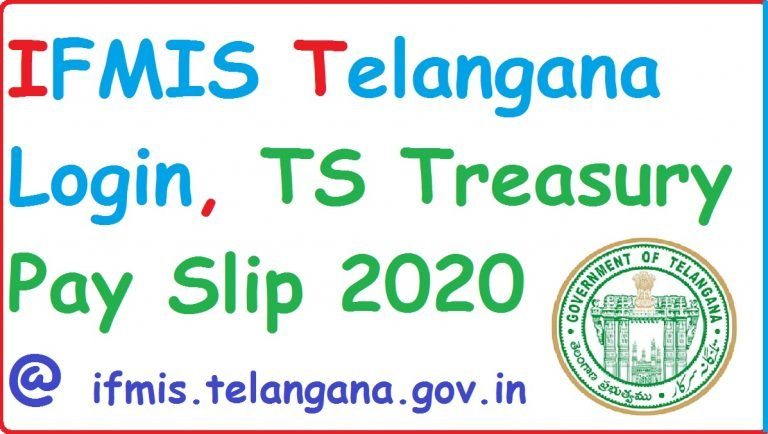 Download IFMIS Telangana Employee Pay Slip 2020