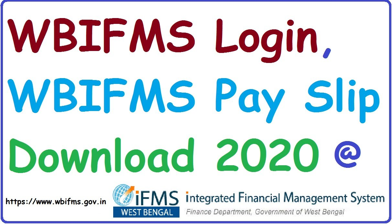 WBIFMS Portal Login