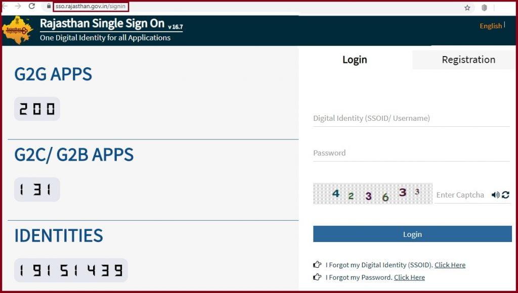 SSO Rajasthan: SSO ID, SSO Registration, SSO Login