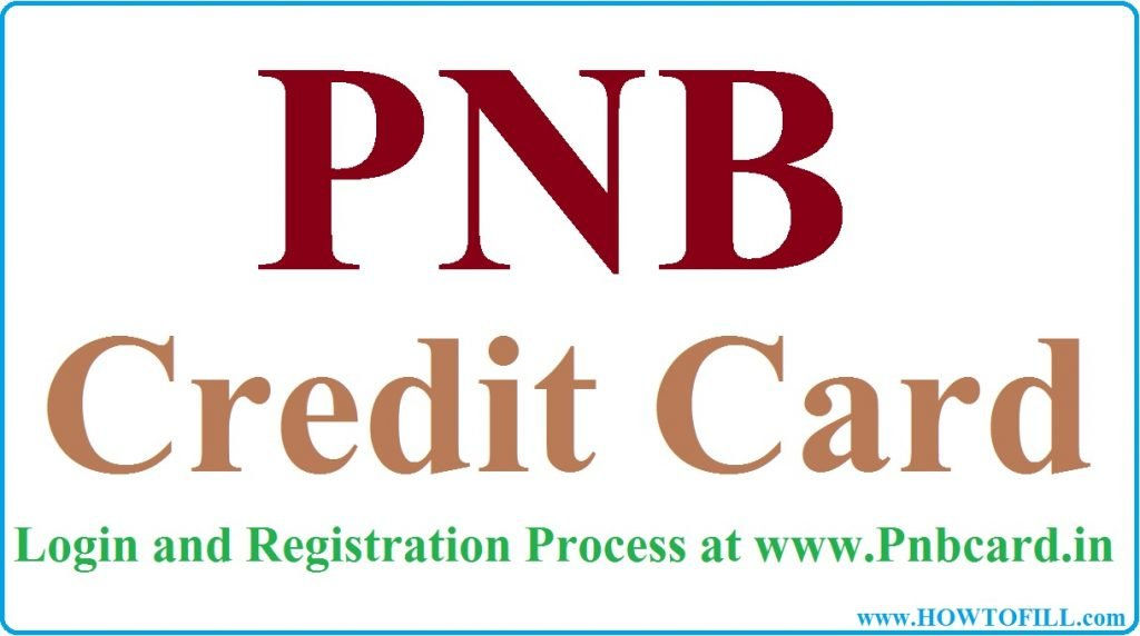 PNB Credit Card login and Registration at Pnbcard.in