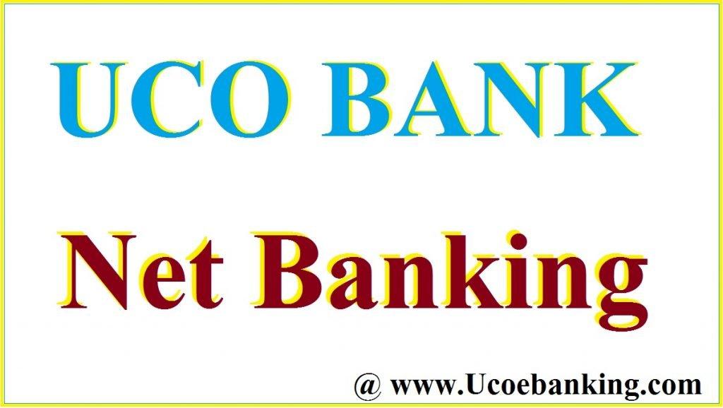 UCO Bank login Net Banking
