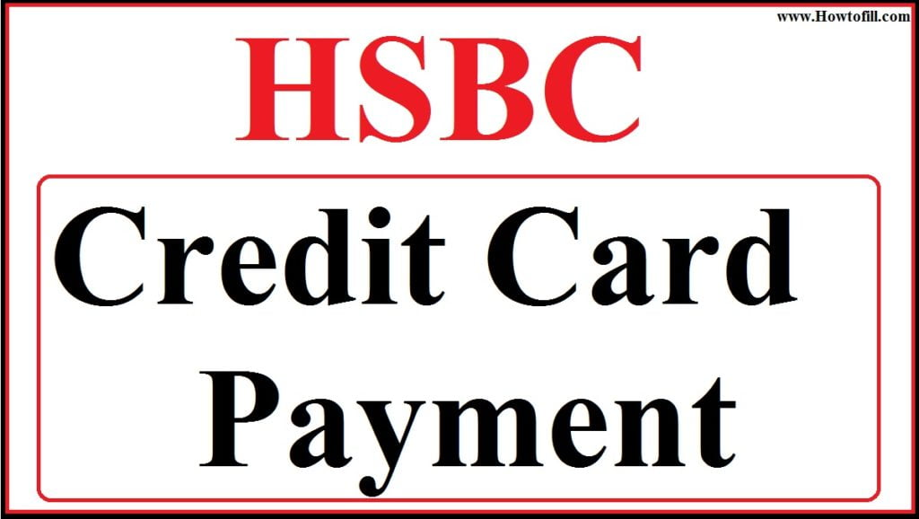 hsbc credit card payment