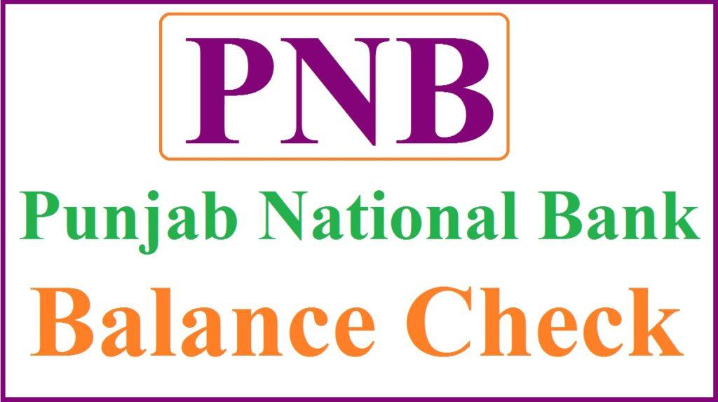 PNB Balance Check