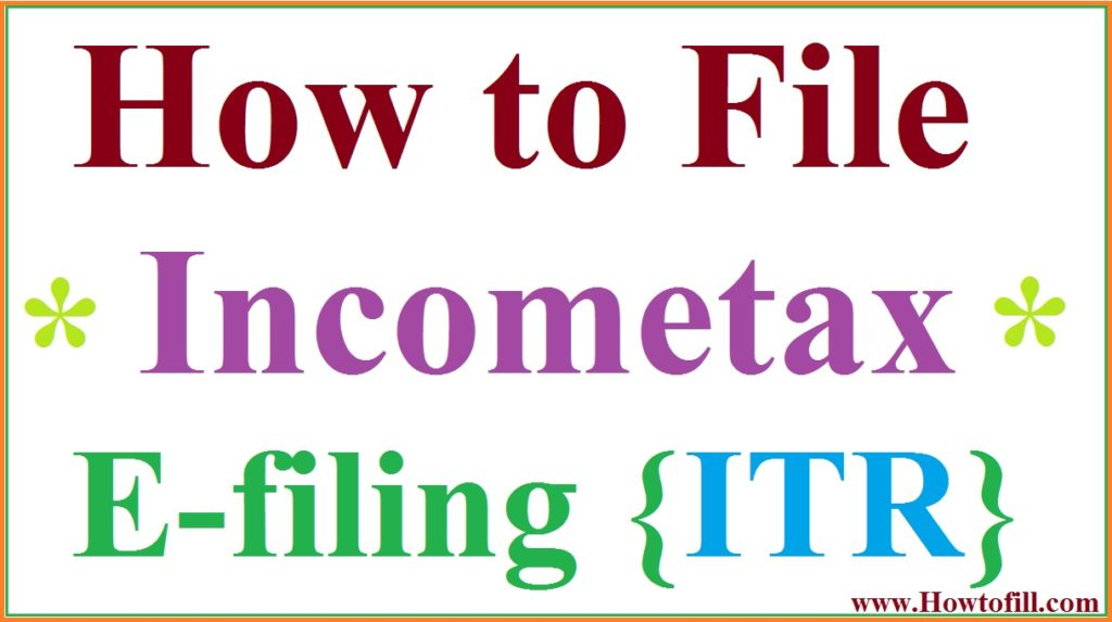 How to File ITR