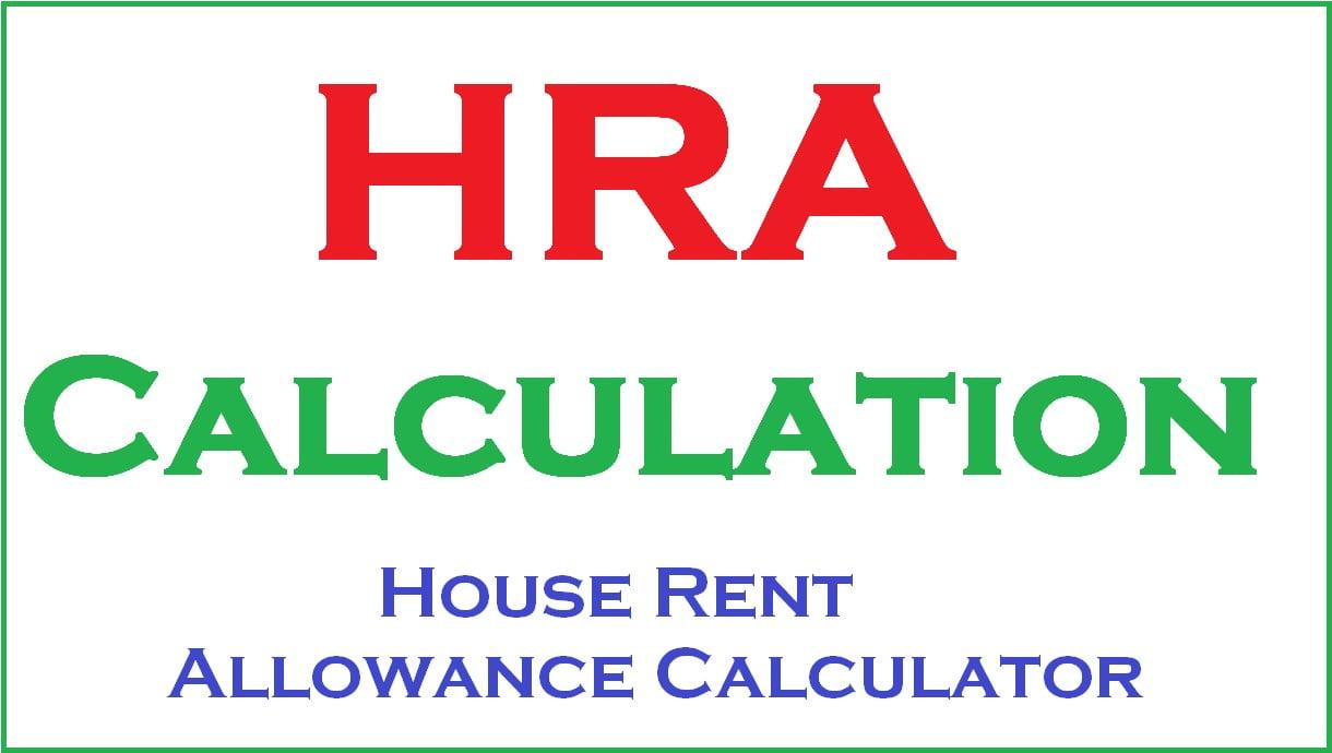 HRA Calculation