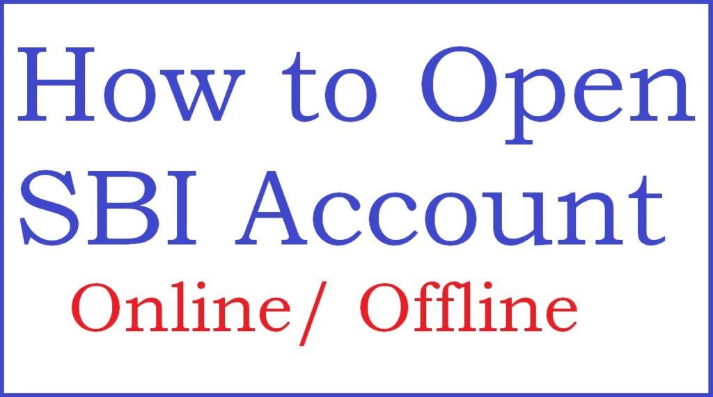 SBI Online Account Opening