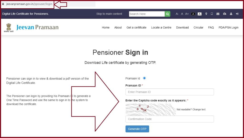 How to Submit life Certificate For Pensioners Online