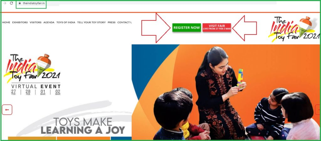 Indian Toy Fair 2021 Registration