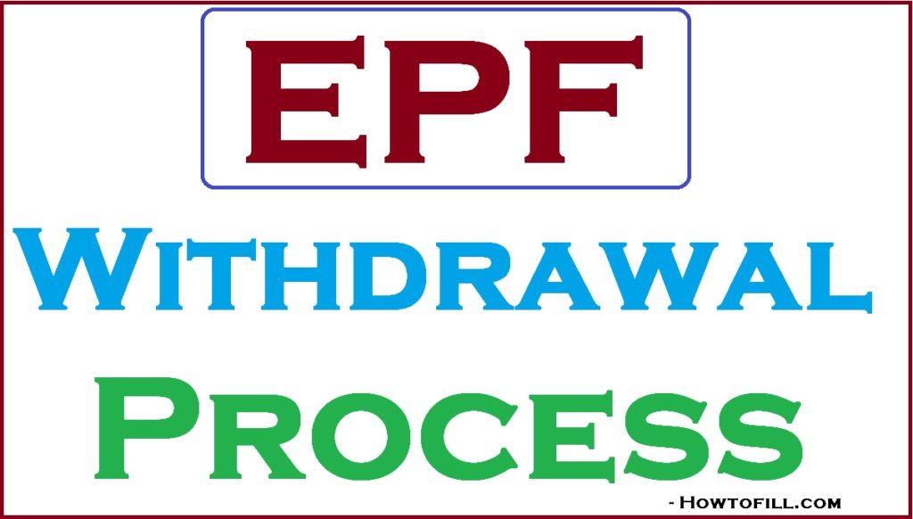 PF Withdrawal Process