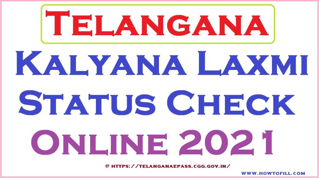 Kalyana Laxmi Status