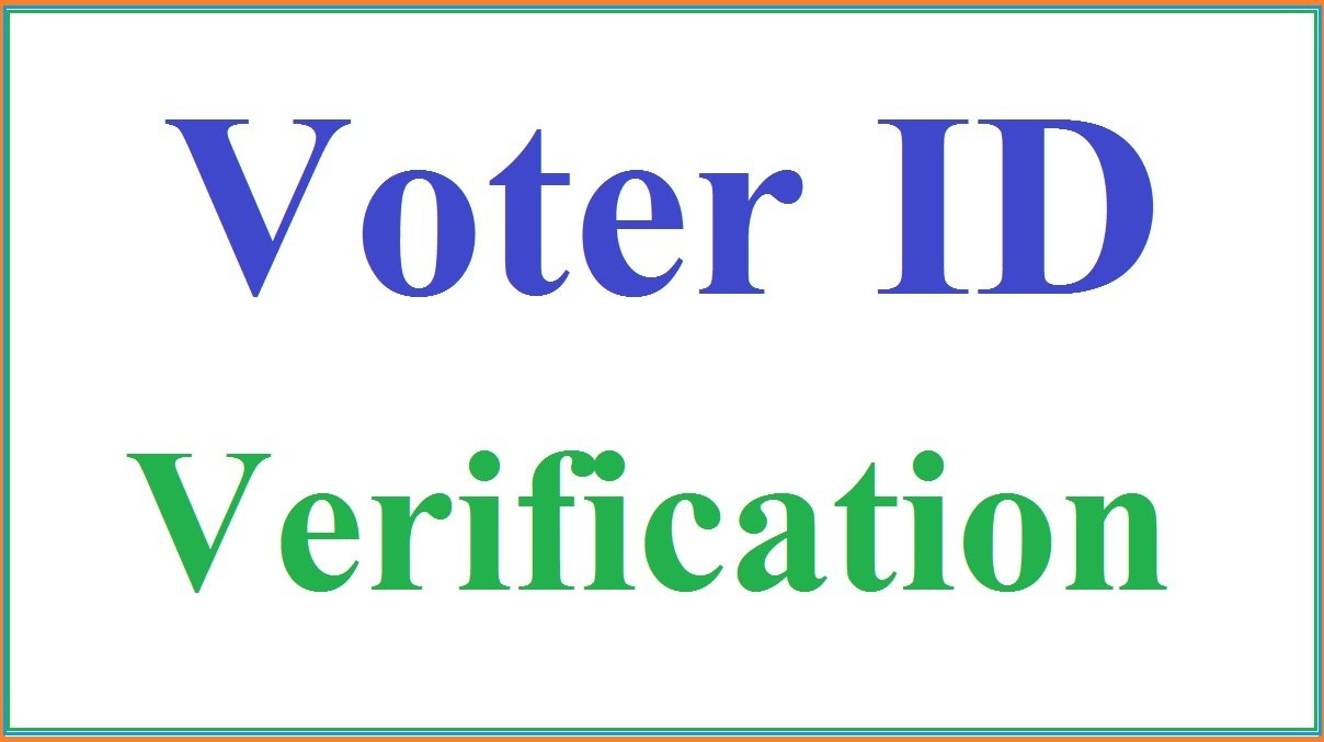 Voter ID Verification