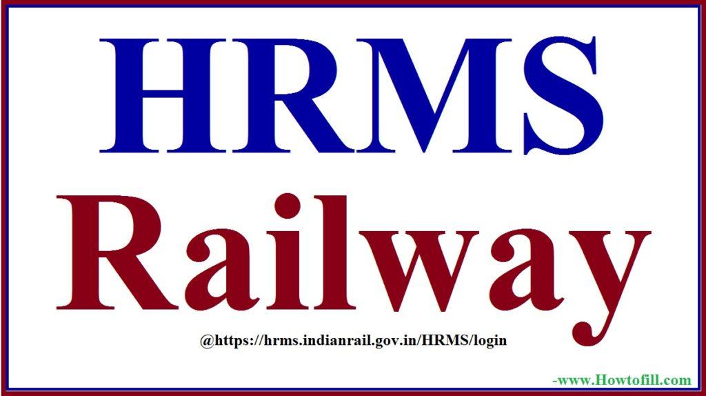 HRMS Railway